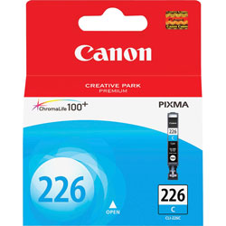 Canon Ink Cartridge, Cyan