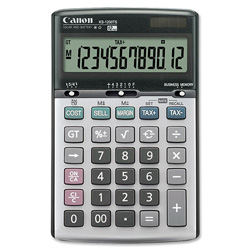 Canon 12-Digit Desktop Calculator, Gray