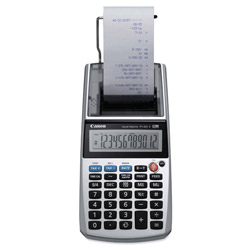 Canon P1DHV 1 Color Portable Printing Calculator, 12 Digit LCD