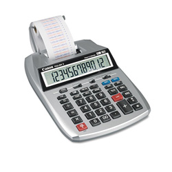 Canon P23-DHV 2 Color Portable Printing Calculator, 12 Digit LCD