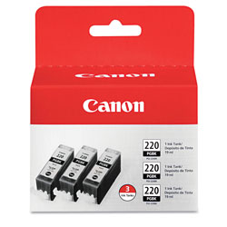 Canon Ink Cartridge, Combo Pack, Black