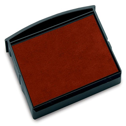 Consolidated Stamp Red Replacement Ink Pad for Date & Phrase Stamp and 8 /10 Band Numberers