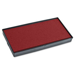 Consolidated Stamp 2000 PLUS Replacement Ink Pad for Printer P40 & Dual Pad Printer P40, Red
