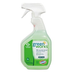Green Works All Purpose Cleaner, Lemon Scented, 32 Oz
