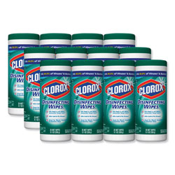 Clorox Disinfecting Wipes, Fresh Scent, Case of 12