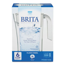 Brita Classic Pour Through Pitcher, 48 oz. Capacity