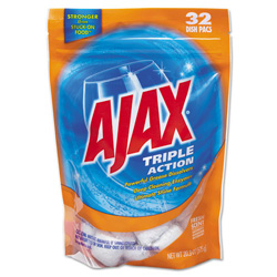 Ajax Triple Action Automatic Dishwasher Detergent Packs, Fresh Scent