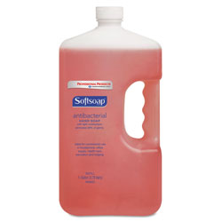 Softsoap Liquid Hand Soap, Antibacterial, 1 Gallon, Crisp Clean Scent