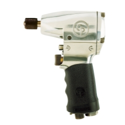 "Chicago Pneumatic 1/4"" Drive Heavy Duty Air Impact Wrench with Hex Chuck"