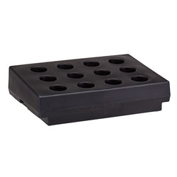 Cambro Cutlery Rack Only, Black