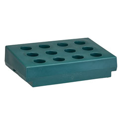 Cambro Cutlery Rack Only, Granite Green