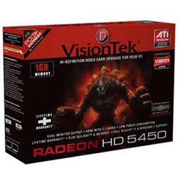 Visiontek Radeon HD 5450 - Graphics Adapter - Radeon HD 5450 - 1 GB
