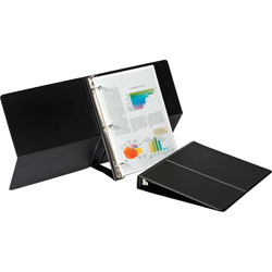 "Cardinal Easel 1"" View Binder, Black"