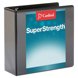 "Cardinal ClearVue™ 4"" View Binder, Black"