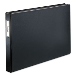 "Cardinal 66% Recycled Slant D® Ring Binder, 1"" Capacity, Black"