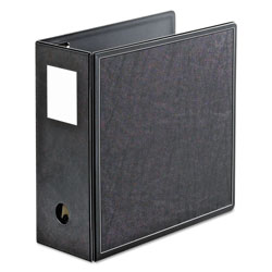 "Cardinal Heavy Duty Ring Binder, 5"" Capacity, Black"