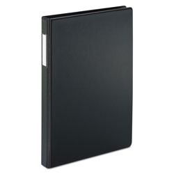"Cardinal 43% Recycled Slatn Heavyweight D-Ring Binder, 2"" Capacity, Black"