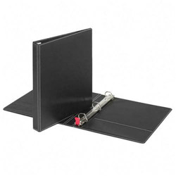 "Cardinal 44% Recycled Easy Open D-Ring Binder, 1"" Capacity, Black"
