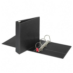 "Cardinal 44% Recycled Easy Open D-Ring Binder, 3"" Capacity, Black"