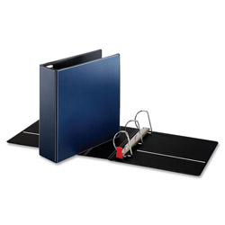 "Cardinal 44% Recycled Easy Open D-Ring Binder, 3"" Capacity, Blue"