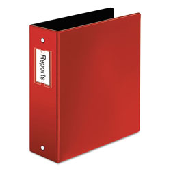 "Cardinal 44% Recycled Easy Open Round Ring Binder, 3"" Capacity, Red"