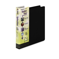 "Cardinal SpineVue® EasyOpen® 1"" View Binder, Black"
