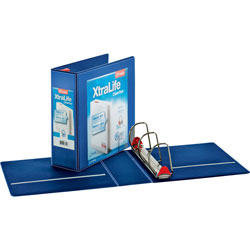 "Cardinal Clearview 4"" View Binder, Blue"