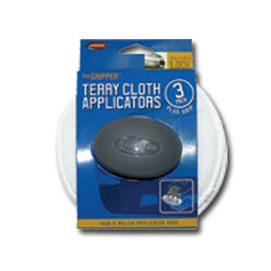 "Carrand The Gripper 5"" Terry Applicators - 3 pack"