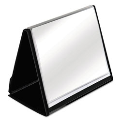 Cardinal Showfile™ 20 Sleeve View Binder, Black