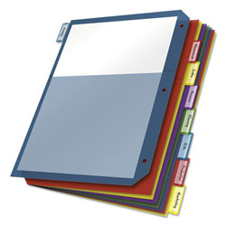Cardinal Extra Tough Sheet Dividers, Assorted Colors