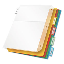 Cardinal Sheet Dividers, Assorted Colors