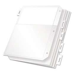 Cardinal Sheet Dividers, Clear