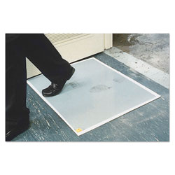 "Ludlow Composites Walk-N-Clean Floor Mat, 30"" x 24"", Gray"