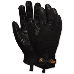 Crews Memphis Multi-Task Synthetic Gloves, Large, Black
