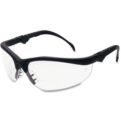 Crews Klondike Magnifier Glasses, 1.5 Magnifier, Clear Lens