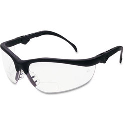 Crews Klondike Magnifier Glasses, 2.0 Magnifier, Clear Lens