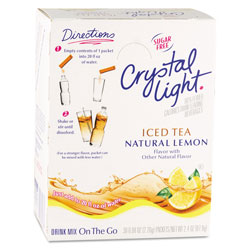 Five Star Distributors On the Go, Iced Tea, .16 oz Packets, 30/Box