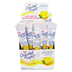 Kraft Foods Powder Drink Mix, Lemonade, 8 Oz, Box of 30