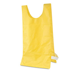 Champion Heavyweight Pinnies, Nylon, One Size, Gold, 12 per Pack