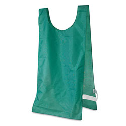 Champion Heavyweight Pinnies, Nylon, One Size, Green, 12 per Pack