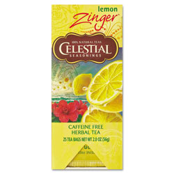 Celestial Seasonings Tea, Herbal Lemon Zinger, 25/Box