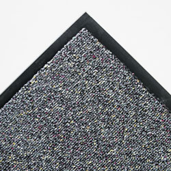 "Crown Mats & Matting Classic Berber™ Vinyl Wiper Mat, 48"" x 72"", Gray"