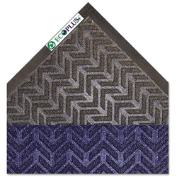 Crown Mats & Matting EcoPlus Rubber Floor Mat, 4' x 6', Blue