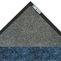 Crown Mats & Matting EcoStep Vinyl Floor Mat, 4' x 6', Blue