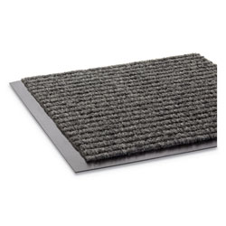 "Crown Mats & Matting Needle Rib™ Vinyl & Polyproylene Scraper Mat, 48"" x 72"", Gray"