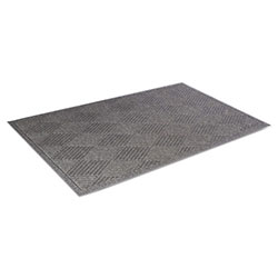Crown Super-Soaker Diamond with Fabric Edging, 45 x 70, Slate