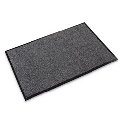 "Crown Mats & Matting Walk-A-Way™ Vinyl Wiper Mat, 48"" x 72"", Gray"