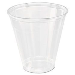 Dart 5 Oz Cold Plastic Cups, Clear, Pack of 2500