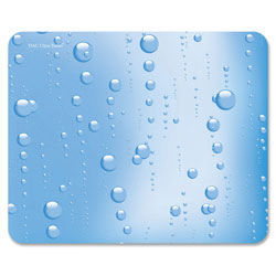 "Data Accessories Corp Mouse Pad, 7-1/8"" x 8-2/3"", Bubbles"