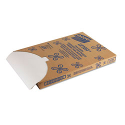 "Dixie LO10 Quilon Type White Grease Proof Pan Liners, 16.375"" x 24.375"""